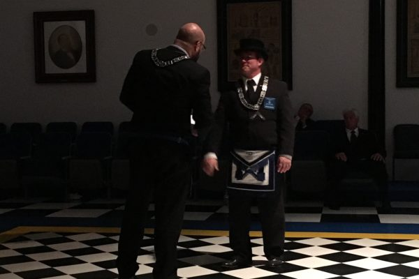 Recognition of outgoing master lyle van outer