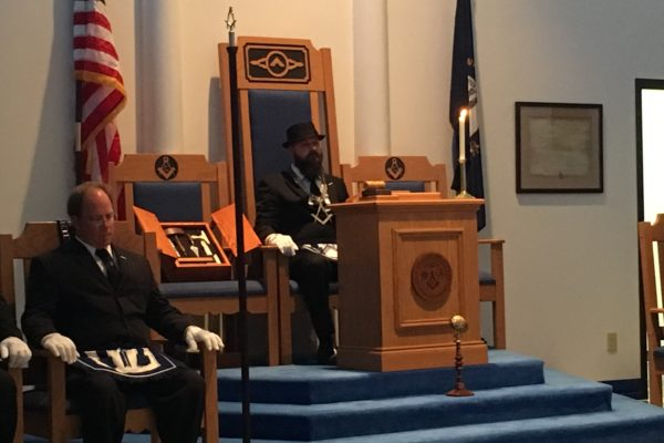 Lexington Lodge No. 1 2017 Officer Installations