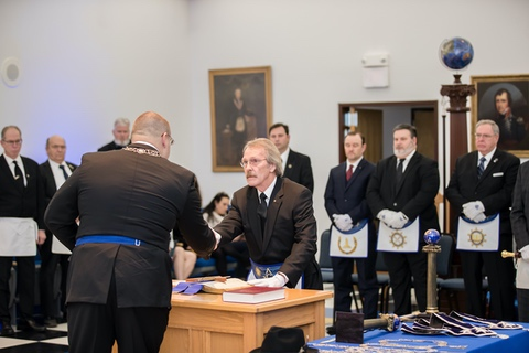 Lexington Lodge No. 1 installation of officers ceremony, Saturday Jan. 5, 2019  in Lexington, Ky. Photo by Mark Mahan